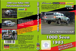 D335* 1000 Seen Rallye WM 1983 *rally of 1000 lakes*Motorsport-DVD*