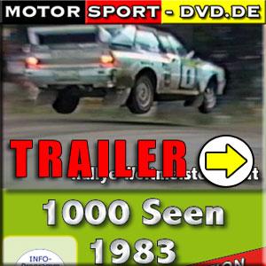 D335* 1000 Seen Rallye WM 1983 *rally of 1000 lakes*Motorsport-DVD*