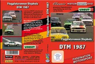 DTM 1987 Flugplatzrennen Diepholz *BMW M3* UNCUT * D400