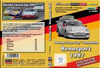 Porsche Carrera Cup * Hockenheim 1997 * D407