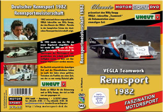 1982 Rennsportmeisterschaft * VEGLA Porsche * 1982
