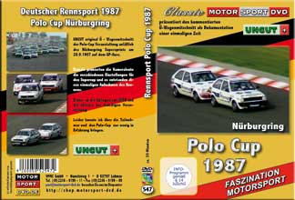 Polo Cup 1987 * Nürburgring * GP Kurs *UNCUT * D547