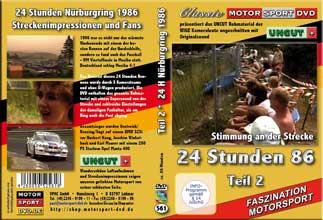 24 Stunden Nürburgring 1986 * UNCUT Teil 2* D561