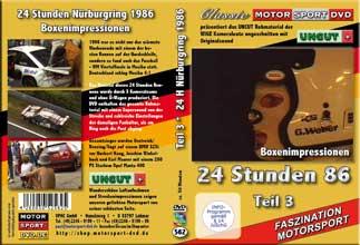 24 Stunden Nürburgring 1986 * UNCUT Teil 3* D562