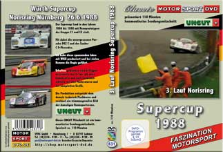 WÜRTH - Supercup -Norisring 1988 * D631