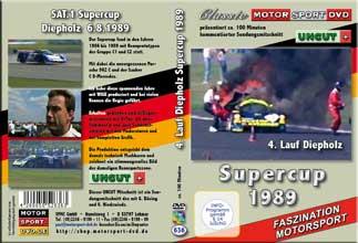 Supercup 1989 - Diepholz 4. Lauf* Porsche 962C * D636