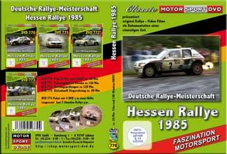 Rallye Hessen 1985  der Film + UNCUT *D770