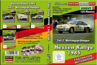 Rallye Hessen 1985 *D772  Wertungsprüfungen UNCUT
