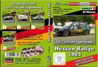 Rallye Hessen 1985 *D773  Ziel + Siegerehrungen  UNCUT