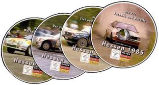 Rallye Hessen 1985 *D774 * Box Set 7 Stunden auf 4 DVD