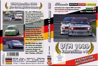 D802* DTM Jahresfilm 1989  + 1 Rennen (2 DVD) DTM DVD * Motorsport DVD