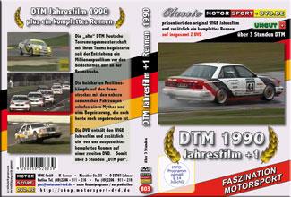 D803* DTM Jahresfilm 1990 + 1 Rennen (2 DVD) DTM DVD * Motorsport DVD