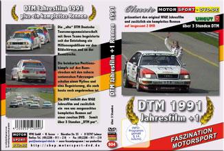 D804* DTM Jahresfilm 1991 + 1 Rennen (2 DVD) DTM DVD * Motorsport DVD
