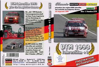 D806* DTM Jahresfilm 1993 + 1 Rennen (2 DVD) DTM DVD * Motorsport DVD