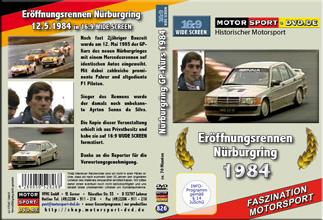 D826* Nürburgring 1984 mit Senna im WIDESCREEN 16:9 Format