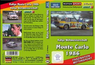 D344* Rallye Monte Carlo 1986 * Walter Röhrl  WIDESCREEN 16:9 Format
