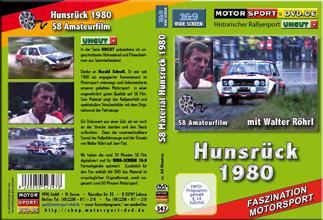 D347* Hunsrück Rallye 1980 mit Walter Röhrl in 16:9 Motorsport Rallye DVD