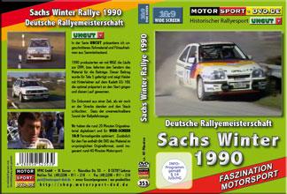 D353* Sachs Winter Rallye 1990 in 16:9 Motorsport Rallye DVD
