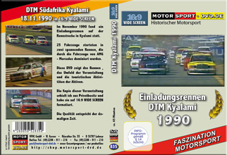 D835* DTM 1990 Kyalami im Widescreen 16:9 Format