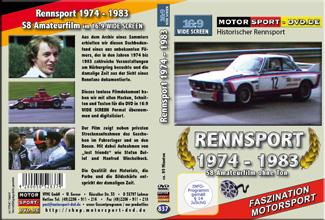 D837* Rennsport Amateurfilm 1974 - 1983 im Widescreen 16:9 Format
