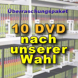 DVD Überraschungspaket Rallye mit 10 DVD nach unserer Wahl