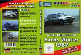 Sachs Winter Rallye 1987 UNCUT * D355
