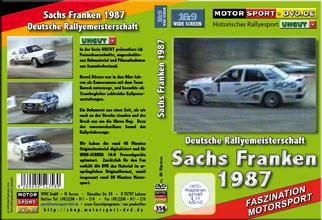 Sachs Franken Rallye 1987 UNCUT * D356