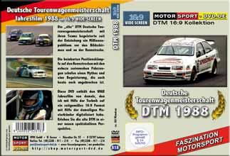 D818* DTM 1988 in 16:9 * Jahresfilm * BMW 323i *Rennsport*Motorsport-DVD *