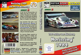 D650* 200 Meilen von Nürnberg *Norisring 16:9 *Rennsport* Motorsport-DVD *