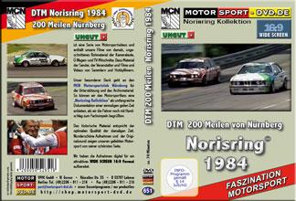 D651* DTM 1984 * Norisring 16:9 * BMW 323i *Rennsport*Motorsport-DVD *