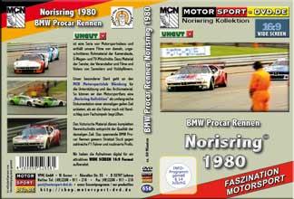 D656* BMW Procar M1 Rennen Norisring 1980  in 16:9 * Motorsport-DVD