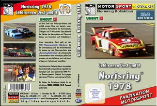 D657* Rennsport Geldrennen Div.I +II Norisring 1978  in 16:9 * Motorsport-DVD