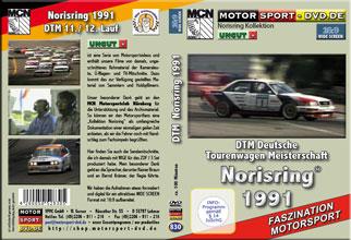 D830* DTM 1991 Norisring im Widescrreen 16:9 Format