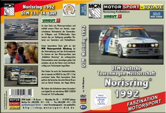 D831* DTM 1992 Norisring im Widescreen 16:9 Format