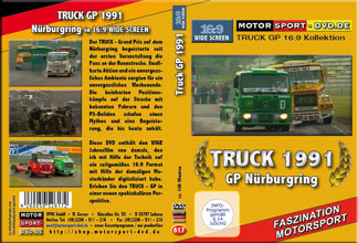 D617* TRUCK GP 1991 in 16:9 Nürburgring * Rennsport * Motorsport-DVD *
