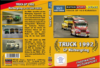 D618* TRUCK GP 1992 in 16:9 Nürburgring * Rennsport * Motorsport-DVD *